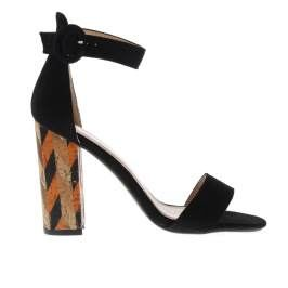 Termékinformáció Glamorous Pattern Block Heeled Sandals