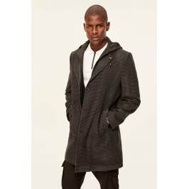 Termékinformáció Trendyol Anthracite Mens Jacket-Hooded